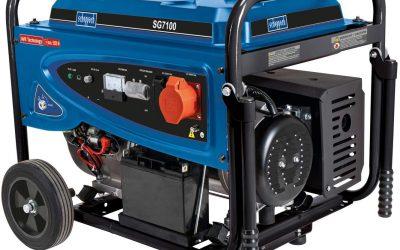 scheppach Benzin-Stromgenerator SG7100
